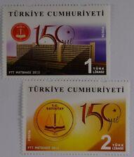 Türkei Turkey 2012, Mi. Nr. 3957-58, 150 Jahre Oberster Rechnungshof in Ankara