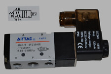 "Pneumatik Ventil 5/2 Wege 24 Volt 1/4"" 1,5 - 8  bar 5/2 Wegeventil Magnetventil"