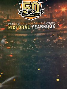 2016 2017 PHILADELPHIA FLYERS YEARBOOK 50TH ANNIVERSARY NHL OFFICIAL HOCKEY