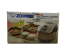 Zojirushi NS-TSC10 5-1/2-Cup (Uncooked) Micom Rice Cooker (Damage to front/Works