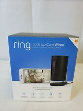 Ring stick up cam wired indoor outdoor security camera POE Brand New!