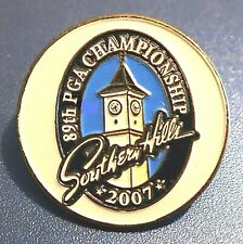 2007 OFFICIAL PGA CHAMPIONSHIP GOLF TOURNAMENT SOUTHERN HILL PIN MASTERS US OPEN