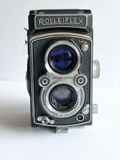 Rolleiflex Zeiss Tessar T* F3.5 TLR Medium Format 120mm Film Camera & Case