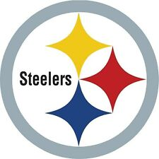 12 STICKERS pittsburgh steelers  Window WALL DECAL Vinyl HQ Car laptop Suitcase