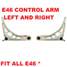 Set of 2 Front Lower Control Arm BMW E46 316 318 320 323 Pair Left & Right 98-05