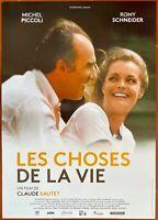 Plakat Les Dinge De La Vie Claude Sautet Romy Schneider Michel Piccoli 40x60cm