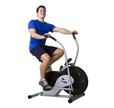 Upright Stationary Exercise Fan Bike Cardio Training Workout Home Gym Fitness