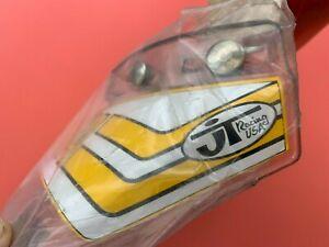 JT Racing Yamaha Vintage 5 Snap Motocross Helmet Visor Peak AHRMA Twinshock NOS