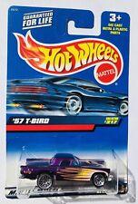 HOT WHEELS~'57 T-Bird 1999 MATTEL Vintage Die Cast Collector Car #217 MIP