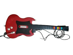 Guitar Hero Gibson Red Octane Wired Controller Guitar PS2 PSLGH no strap