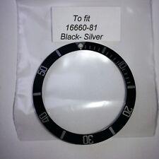 ROLEX SEA-DWELLER 16600 16660 Inserto ghiera compatibile aftermarket
