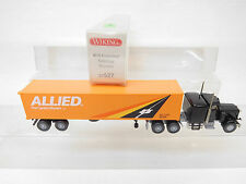"eso-5994	Wiking 1:87 US Peterbilt Container-Sattelzug ""ALLIED"""