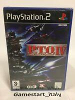 P.T.O. IV 4 - SONY PS2 - NUOVO SIGILLATO - NEW SEALED PAL VERSION PLAYSTATION 2