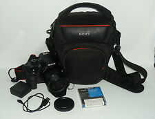 Sony Alpha A3000 20.1 MP Camera - Black - Kit with 10-55 mm Lens