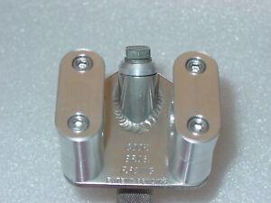 "NEW Aluminum Clamp Set for Cook Bros Slant Stem 7/8"" Bars Cruiser Uni Clamp BMX"