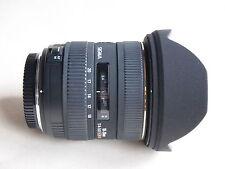 Olympus Ajuste Sigma ex 10-20 mm f/4.0-5.6 DC HSM Lente + Tapas + Estuche Olympus 4/3