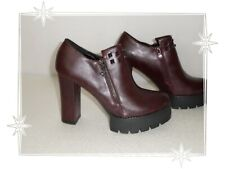 J  - Chaussures  Plate-formes Bordeaux Clous  La Bottine Souriante  P 37