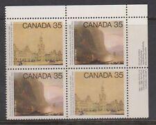 Canada. 851-52 Academy of Arts plate block 1980