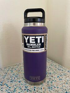 YETI Peak Purple 36 oz Rambler Bottle with Triplehaul Cap