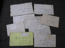 Letter collection relating to Alderson & White Sulphur Springs, Greenbrier, WV!