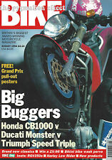 Triumph 900 Speed Triple M900 Monster Honda CB1000 Cagiva Mito RGV250 GTR1000 RG