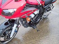 R&G RACING Crash Protector - Yamaha Fazer 600 up to 2003  **BLACK**