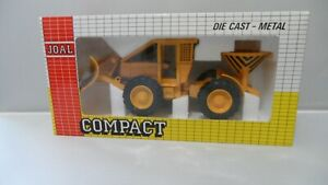JOAL COMPACT SNOW PLOUGH PLOW #229 CATERPILLAR      1:43 SCALE