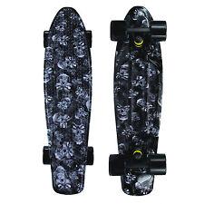 "Mayhem 22"" x 6"" Skulls Plastic Board Mini Cruiser Skateboard"