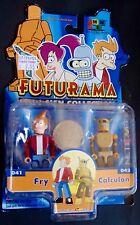 FUTURAMA Toynami I-MEN Collection Action Figures FRY CALCULON minimates size MOC