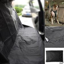 Waterproof Dog Car Seat Cover for Cat Pet SUV Door Van Back Rear BenchBlack