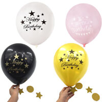 10pcs Happy Birthday balloons air balloons birthday party decorations  NT