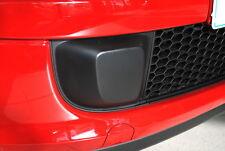 Fiat 500 Lower Bumper Fog Blank Black Trim Right Drivers New Genuine 735455039