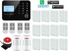 T06 IOS/Android APP GSM PSTN Wireless & Wired Home Security Alarm Burglar System
