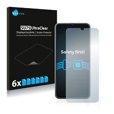 6x Displayschutzfolie für Samsung Galaxy M30s Klar Schutzfolie Displayfolie