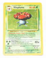 Pokemon: Vileplume Error Missing Symbol Jungle Set Holo 15/64 Rare Card Misprint