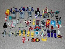 Lot of 42 Damaged G1 & G2 Transformers for Parts Repair or Custom Bait