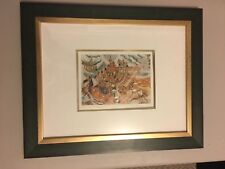 Ilan Hasson Limited Edition Lithograph Print, Framed, Signed, numbered