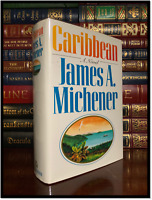 Caribbean by James A Michener Near Mint 1989 Hardback 1st Edition First Printing