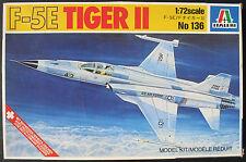 ITALERI 136 - F-5E TIGER II - 1:72 - Flugzeug Modellbausatz - Model Kit