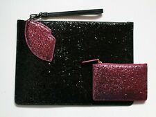 Pochette Clutch Bag Lips // Lipstick // Dollface Free Notebook Lulu Guinness