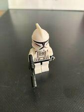 LEGOE Star Wars Comparable Clone Trooper Clone Wars Minifigure sw201 Blaster