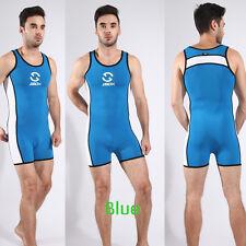 Sex Mens Leotard Bodysuit jumpsuit Swimwear One-piece Swimsuit Wrestling Singlet