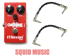 Maxon OD808X Overdrive Extreme (2 FENDER CABLES) Modified 808 OD808 Tubescreamer
