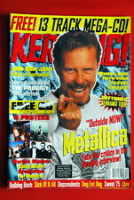 Metallica Cover + 5Pages Marilyn Manson/Limp Bizkit Poster 1997 Prodigy Magazine