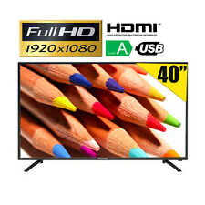 "TV LED 40"" FULL HD 1920x1080 TELEVISORE USB HDMI VGA H.264 HYUNDAI TQL40F4-001"