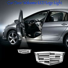 2x For Cadillac LED Car Door Logo Ghost Shadow Courtesy Lights Projector
