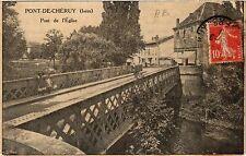 CPA    Pont-de-Chéruy(Isére) - Pont de l'Église   (434704)