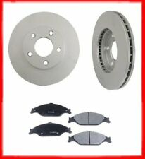 New Rear Brake Rotors & Ceramic Brake Pads for Nissan Maxima 2004-2008
