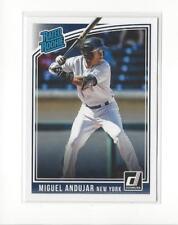 2018 Donruss #31 Miguel Andujar RR RC Rookie Yankees