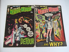 Vintage Wonder Woman 190 and 191 Original Owner  1970 Comic Book set old school
